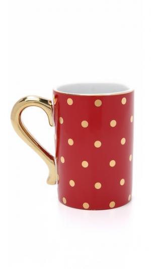 Кружка Soiree Rouge Gift Boutique. Цвет: красный/золотистый