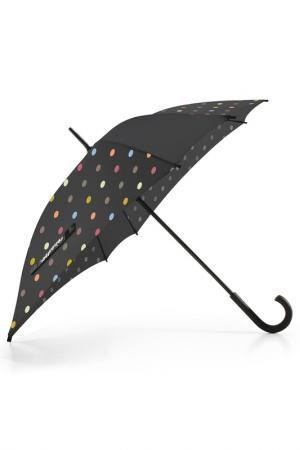 Зонт-трость REISENTHEL. Цвет: черный