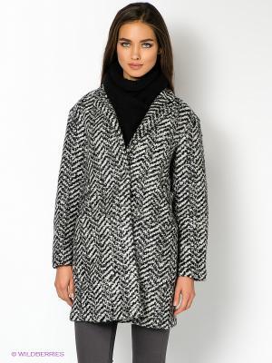 Пальто GAS. Цвет: черный, белый