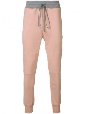 Спортивные брюки LAX Oyster Holdings. Цвет: розовый и фиолетовый