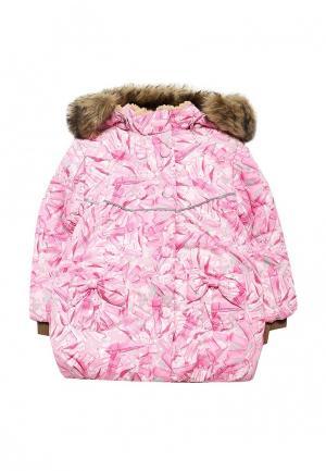 Куртка утепленная Huppa. Цвет: розовый