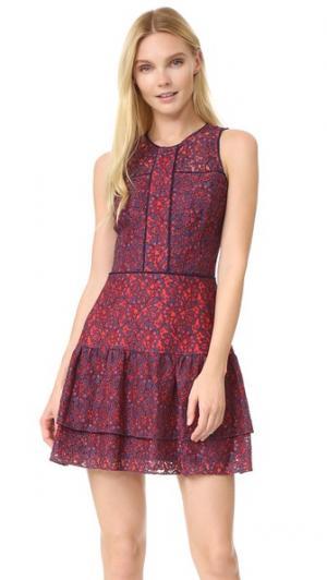 Платье Nerissa Parker. Цвет: риф