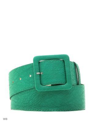 Ремень Vittorio Richi. Цвет: зеленый