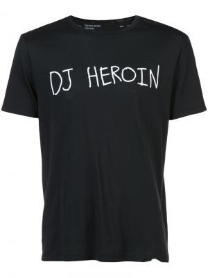 Футболка DJ Heroin Enfants Riches Déprimés. Цвет: чёрный