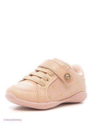 Ботинки Klin. Цвет: бежевый