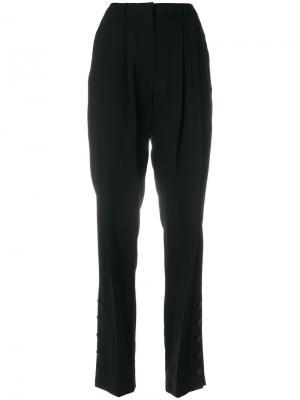 Широкие брюки с пуговицами Altuzarra. Цвет: чёрный