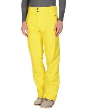 Повседневные брюки PEAK PERFORMANCE. Цвет: желтый