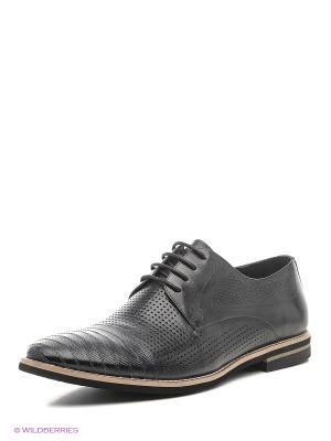 Туфли Premier. Цвет: черный