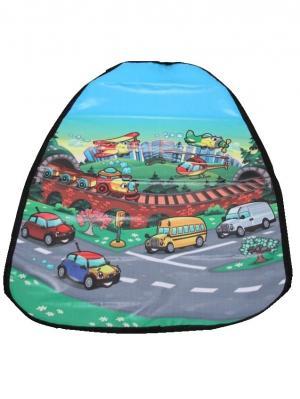 Накидка защитная в автомобиль WIIIX. Цвет: синий, фиолетовый