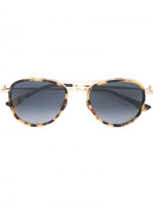 Солнцезащитные очки Cupido Kiton. Цвет: коричневый
