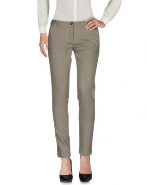 Повседневные брюки PENCE. Цвет: серый