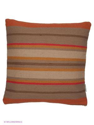 Подушка PRIVIUM. Цвет: бежевый, горчичный