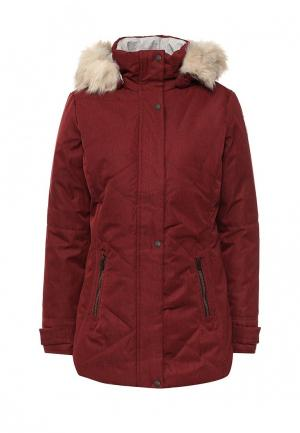 Куртка утепленная Torstai. Цвет: бордовый
