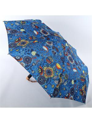Зонт Airton. Цвет: синий, красный, золотистый