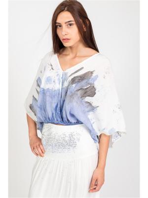 Блуза Amado Barcelona. Цвет: голубой