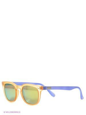 Солнцезащитные очки TOUCH. Цвет: оранжевый