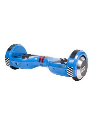 Детский гироскутер CarWalk Sport. Размер колеса 4,5 дюймов.. Цвет: синий