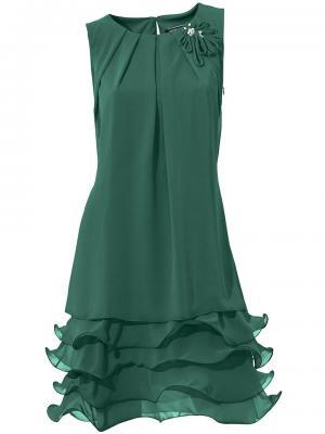 Коктейльное платье Otto. Цвет: зеленый