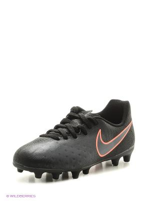 Бутсы JR MAGISTA OLA II FG Nike. Цвет: черный