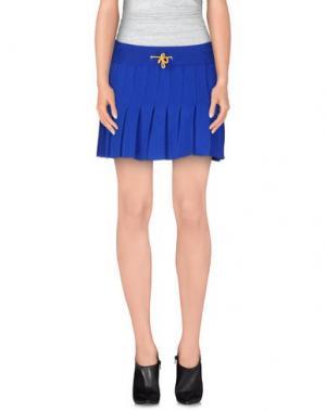 Мини-юбка AKEP. Цвет: синий