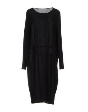 Платье до колена A.B APUNTOB. Цвет: черный