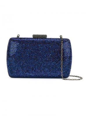 Embellished clutch Serpui. Цвет: синий