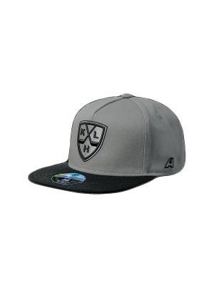 Бейсболка КХЛ Atributika & Club. Цвет: серый