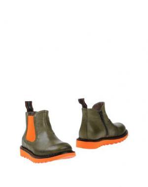 Полусапоги и высокие ботинки JARRETT. Цвет: зеленый-милитари