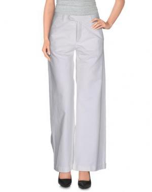 Повседневные брюки AVN. Цвет: белый