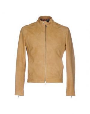 Куртка ROBERTO PEPE. Цвет: охра