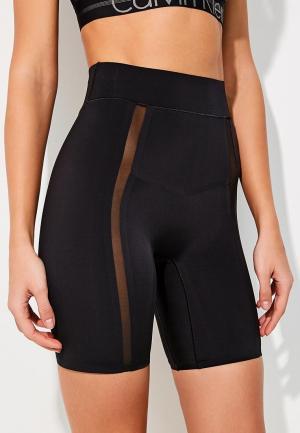 Белье корректирующее Calvin Klein Underwear. Цвет: черный