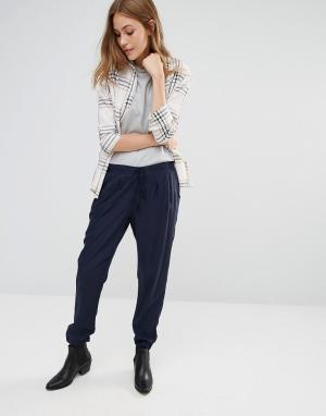 Pimkie Широкие брюки со складками. Цвет: черный