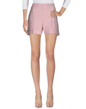 Повседневные шорты NINEMINUTES. Цвет: розовый