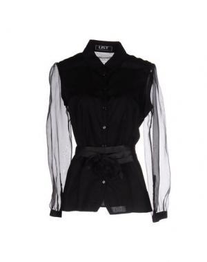 Pубашка LIST. Цвет: черный