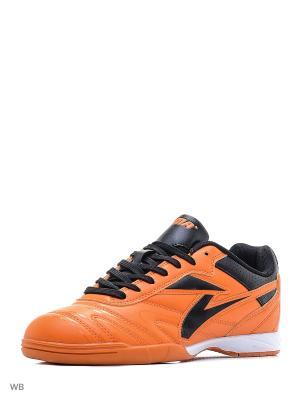 Бутсы Sigma. Цвет: оранжевый, черный