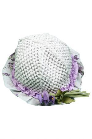 Шляпа Monnalisa. Цвет: белый
