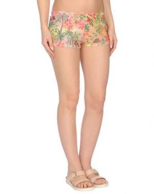 Пляжные брюки и шорты AGOGOA. Цвет: розовый