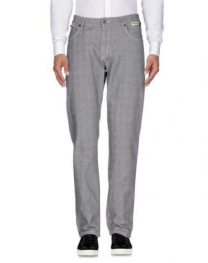 Повседневные брюки CARLO PIGNATELLI OUTSIDE. Цвет: серый