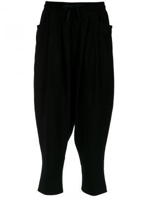 Drop-crotch trousers Uma | Raquel Davidowicz. Цвет: чёрный