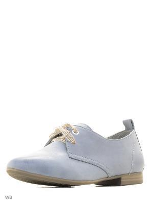 Ботинки BE NATURAL. Цвет: голубой