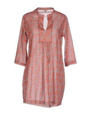 Короткое платье PYAAR. Цвет: красный