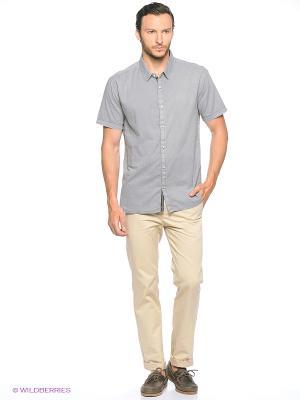 Рубашка Colin's. Цвет: серый