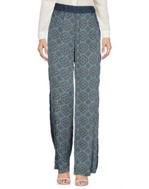 Повседневные брюки LA FEE MARABOUTEE. Цвет: грифельно-синий