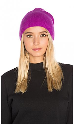 Асимметричная шапочка Autumn Cashmere. Цвет: фиолетовый
