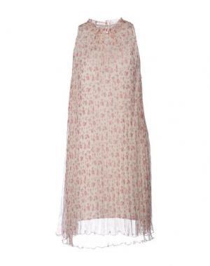 Короткое платье PAUL & JOE. Цвет: пастельно-розовый
