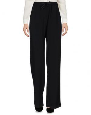Повседневные брюки OBLÒ® UNIQUE. Цвет: черный