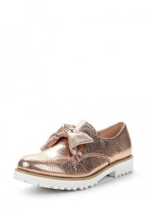 Ботинки Renda. Цвет: золотой