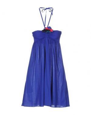 Короткое платье ERES. Цвет: ярко-синий