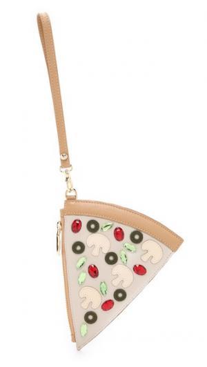 Сумочка Pizza с ремешком на запястье Patricia Chang