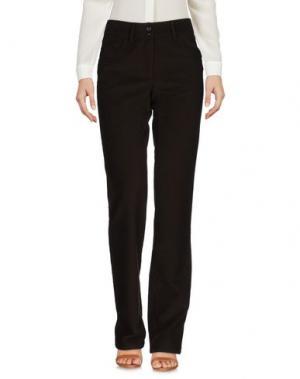 Повседневные брюки MALO. Цвет: темно-коричневый